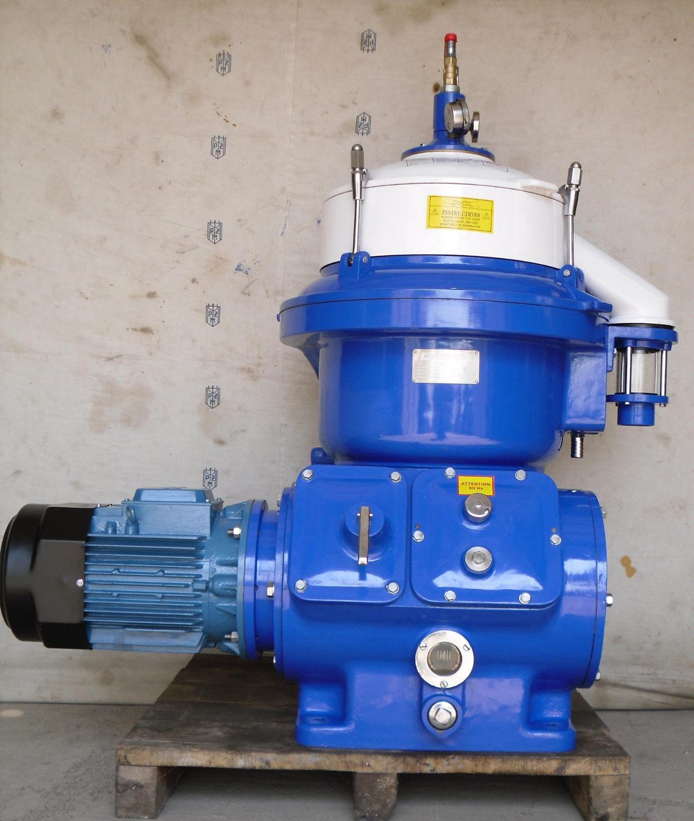 Message. Alfa Laval MAPX-204 oil purifier
